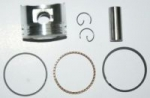 Piston+Segmenti+Bolt 4t yaben 80cc 47mm